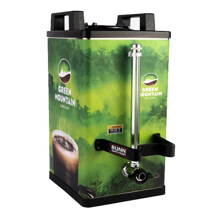 Satellite Dispenser Branding